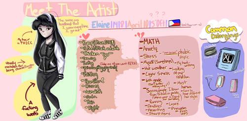 Meet The Artist by cutiepiegirl95