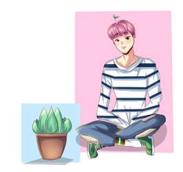 Cute Planter ~ by cutiepiegirl95