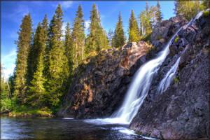 Waterfall by Joonaaz
