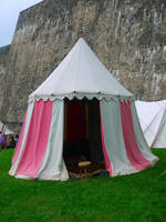 Medieval Tent by Dragoroth-stock
