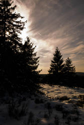 A Winter Sunset 2 by Dragoroth-stock