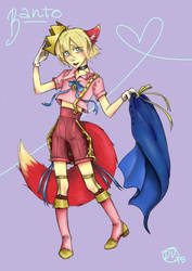 Banto Prince Outfit by DropInTheAir