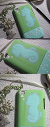 Seahorse iPod Cover by ecamouse37