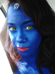 Mystique Cosplay by ecamouse37