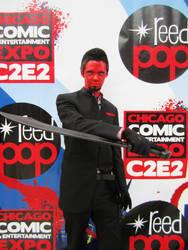 Azazel Cosplay by ecamouse37