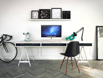 Desk by Phanox