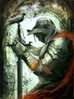 Forgotten Knight by sinakasra