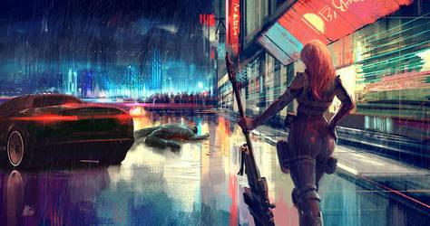 Technicolor Death by sinakasra