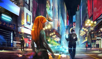 Nightlife by sinakasra