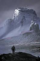 Holy Mountain by sinakasra