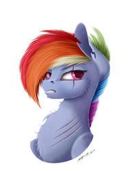 Rainbow Dash by Skitsniga