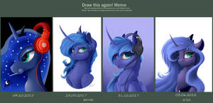 Princess Luna by Skitsniga