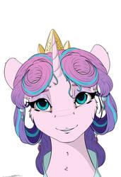 Princess Flurry Heart by Skitsniga
