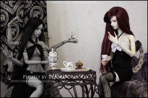 A Monsters' Teaparty by yenna-photo