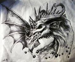 Infernal Dragon by Maya92