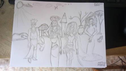 African Mystics by Leko2
