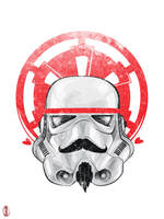 Imperial Hipster: Stormtrooper by cryssy