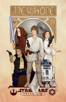Star Wars: A New Hope by cryssy