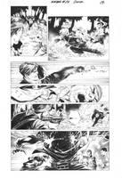 Ninjak#16 Page 09 Inks by Alissonart