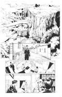 Ninjak#16 Page 05 Inks by Alissonart