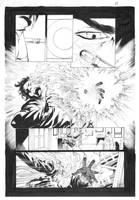 ninjak#15 page 21 inks by Alissonart