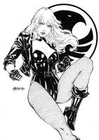 Black canary by Alissonart
