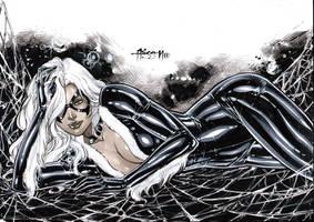 Black Cat by Alissonart