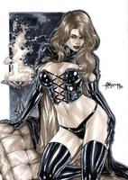 Black Queen by Alissonart