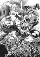 Red Sonja by Alissonart