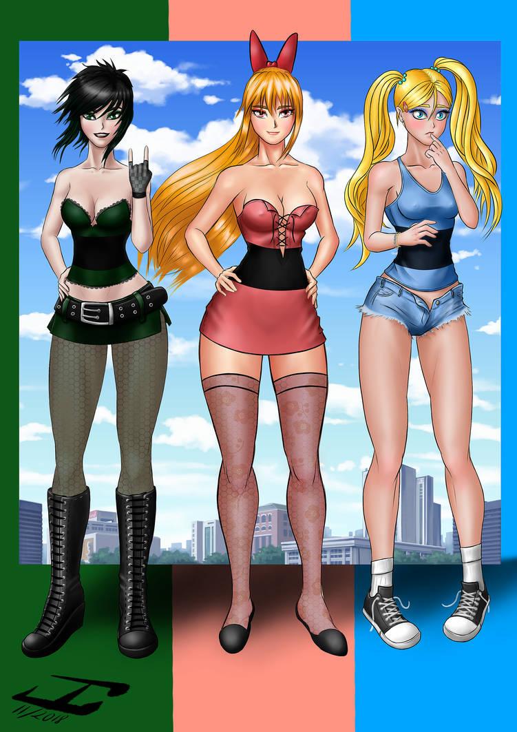 powerpuff girls by JosaCoimbra