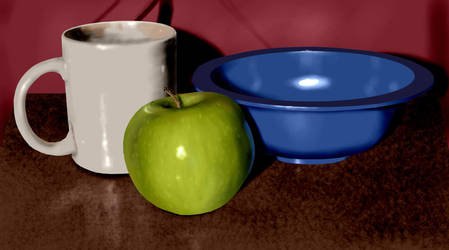 Digital Painting: Still Life by WillCapers