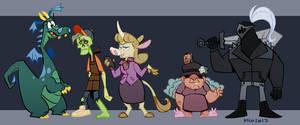 Scorched Cast - Part 1 by Kilo-Monster