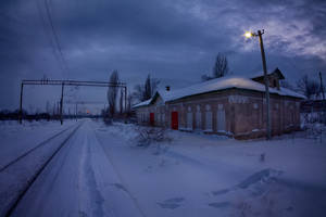 Abandoned station by alex1nax