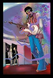 Jimi Hendrix by DigitalSerrano
