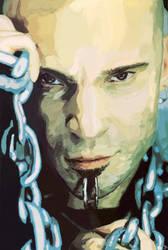 Portrait -- David Draiman by TheDalishRanger