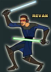 Revan ala Clone Wars by TheDalishRanger