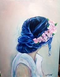 Flowers in Her Hair by DanaAMero