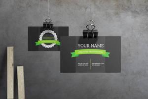 Verdant - Business Card by macrochromatic
