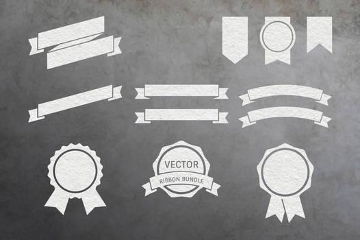 Vector Ribbon Pack Vol. 1 by macrochromatic