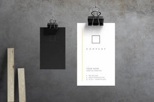 No.7 - Business Card by macrochromatic