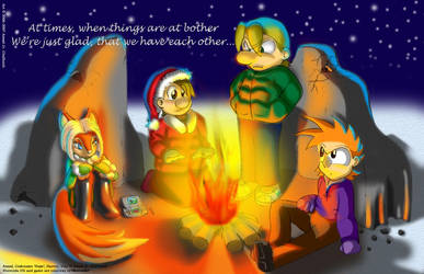 Christmas Buddies 2006 by hope-n-forever