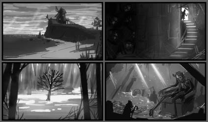 Tonal Thumbnail Practice 02 by InAmberClad