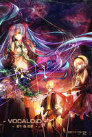 vocaloid 01+02 by FLAFLY