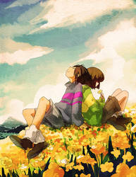 undertale by FLAFLY
