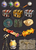 Different props by Naqsh-gar