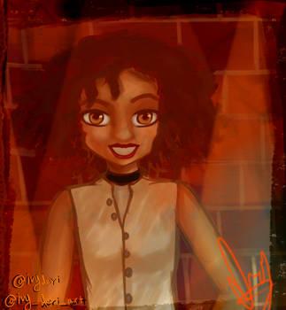 Sasha Hutchings by IvyDevi