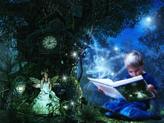 True Fantasy by KarinClaessonArt