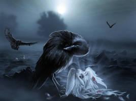 Fallen Angel by KarinClaessonArt