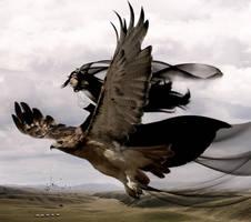 Eagle Queen by KarinClaessonArt