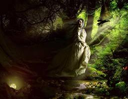 Darkness by KarinClaessonArt